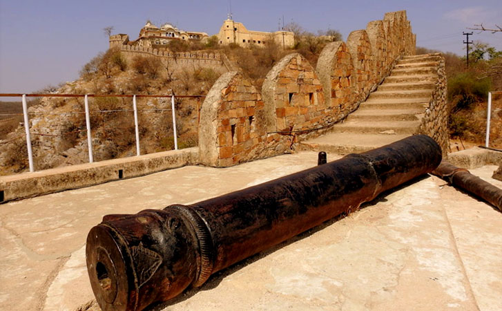 The Alwar Fort or Bala Quila